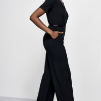 A Sexy Alternative to the Little Black Dress: The Little Black Jumpsuit