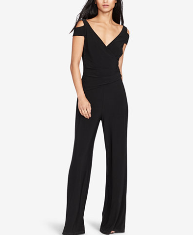 2017-08-21 17_02_14-Lauren Ralph Lauren Stretch-Jersey Cold Shoulder Jumpsuit - Pants - Women - Macy